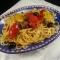 Pasta con peperoni e cipolla di Tropea
