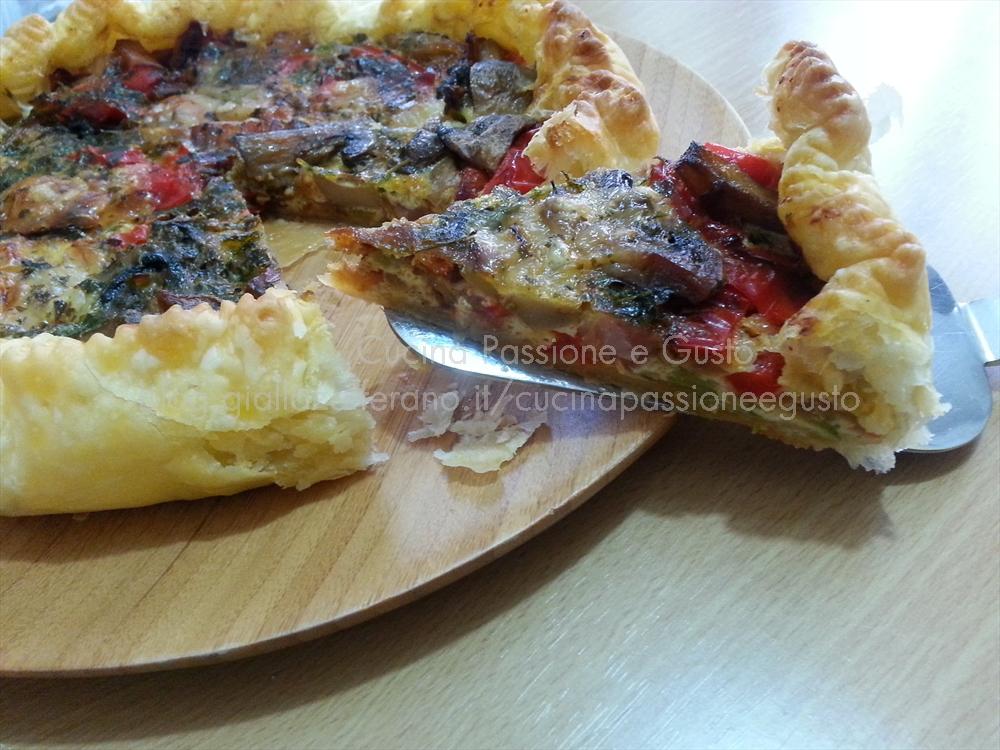Torta salata alle verdure– Copyright © All Rights Reserved, Latte di Mandorla blog