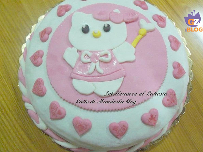 Torta di compleanno per bambini Hello Kitty