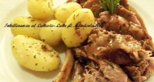Stinco di maiale al forno| Ricetta di Natale