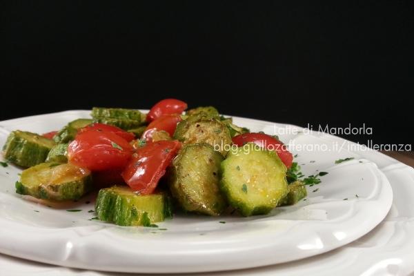 Zucchine trifolate al pomodoro