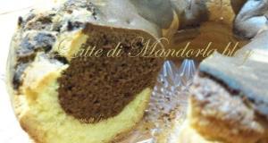 Ciambellone vaniglia e cioccolato | Ricetta dolce senza lattosio