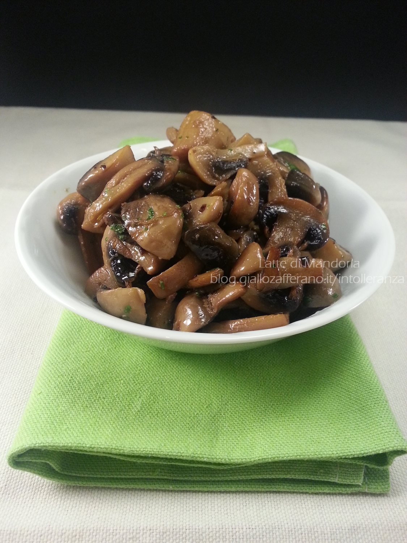 Funghi trifolati champignon