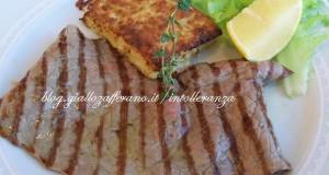 Paillard ai ferri al timo | Ricetta carne, secondo piatto
