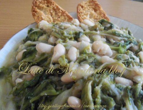 Scarole con fagioli | Ricetta piatto unico