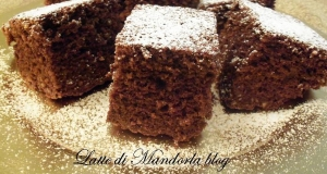Brownies al cioccolato e nocciole con rum   Ricetta senza latte e burro