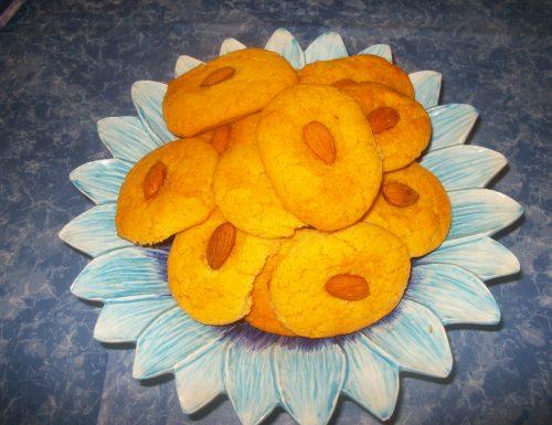 Biscotti alle mandorle, senza lattosio