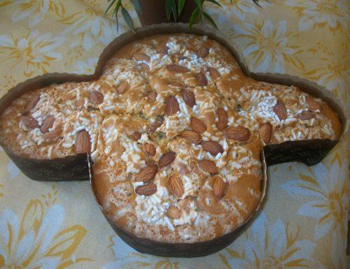 Colomba Pasquale, senza burro e derivati | Ricetta di Pasqua