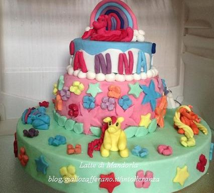 Torta compleanno Malide pony