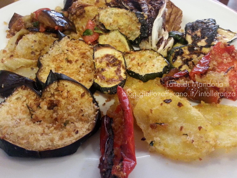 Verdure al forno con pangrattato e paprika