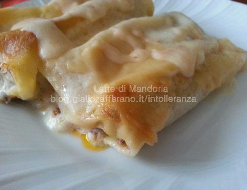 Cannelloni con zucca e salsiccia