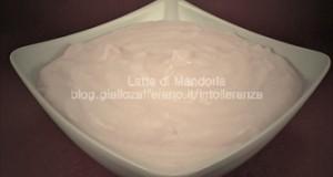 Crema al latte di riso, senza lattosio