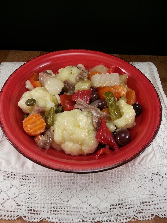 Insalata di rinforzo alla napoletana ricetta di Natale
