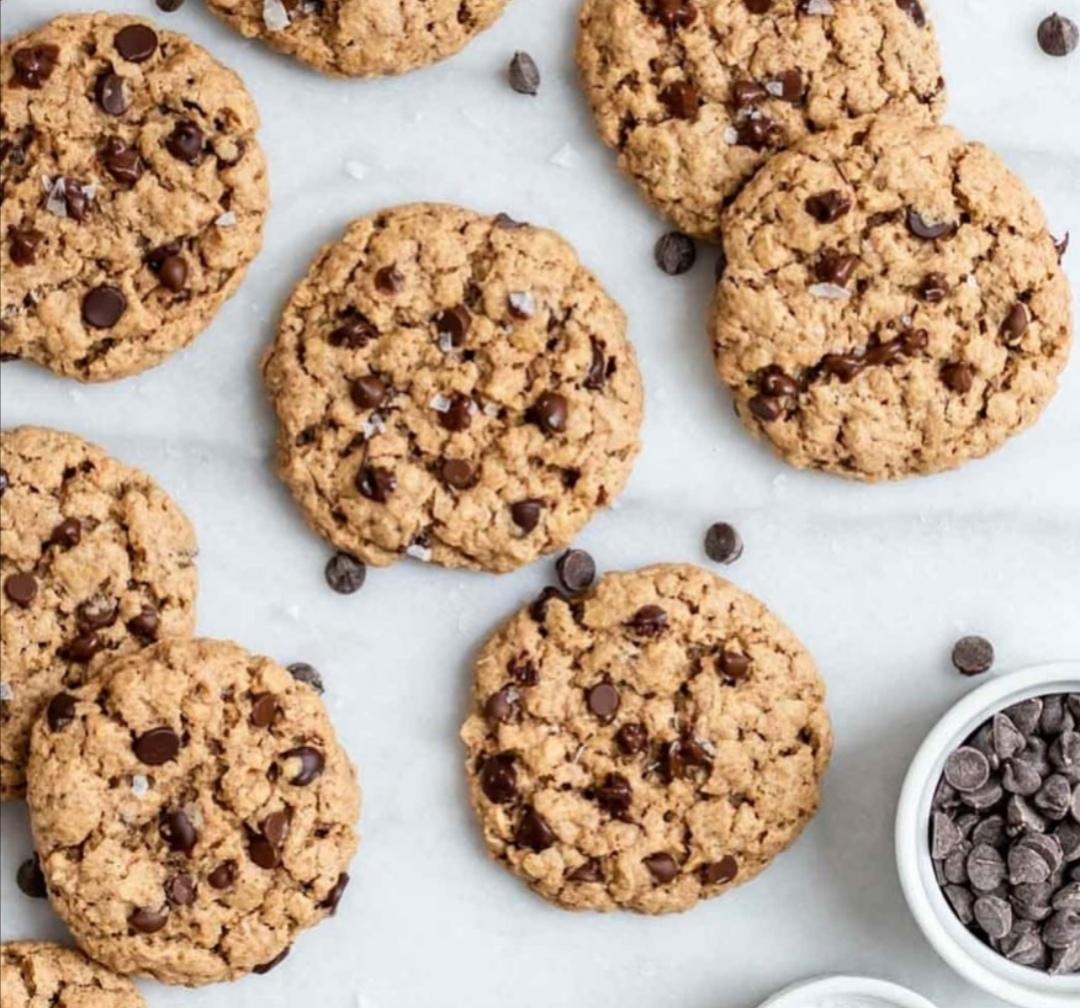 Biscotti senza al burro al cioccolato