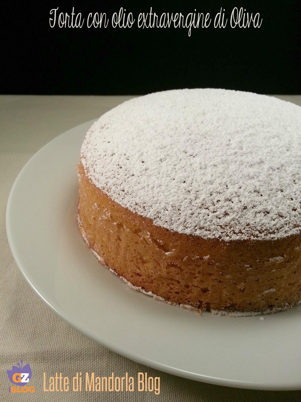 Torta sofficissima con olio extravergine di oliva senza burro