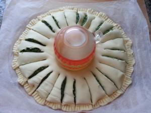 Torta salata a forma fi fiore girasole senza lattosio -Latte di Mandorla Blog Ricette senza Lattosio - Copyright © All Rights Reserved