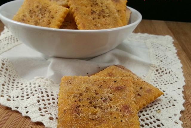 CRACKERS GUSTO PIZZA COTTI IN PADELLA SENZA LIEVITO