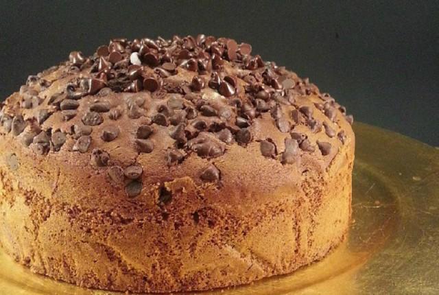 TORTA AL CIOCCOLATO FONDENTE E PANNA senza glutine lattosio