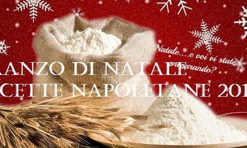 PRANZO DI NATALE RICETTE NAPOLETANE 2015