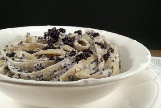PASTA CON CAVIALE E PANNA -Blog Ricette senza Lattosio per intolleranti – Copyright © All Rights Reserved (Blog Giallozafferano)