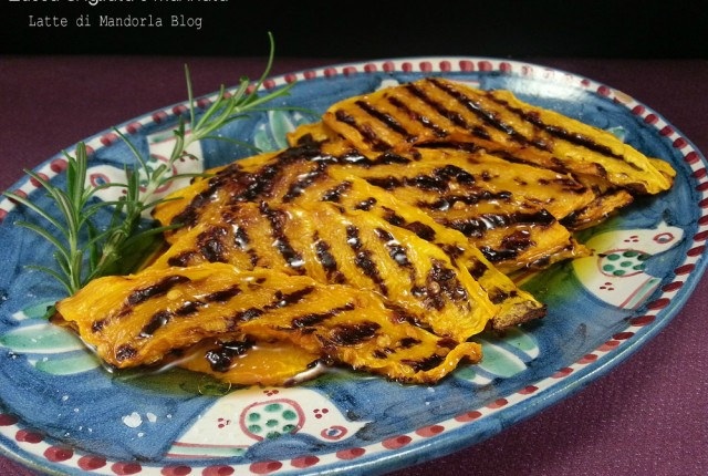 Zucca grigliata e marinata -Blog Ricette senza Lattosio per intolleranti – Copyright © All Rights Reserved (Blog Giallozafferano)