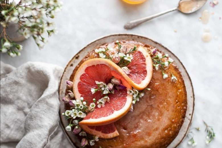 TORTA ACE con succo di arancia e carote senza glutine e senza lattosio