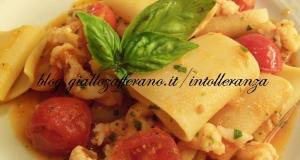Pasta con scorfano e pomodorini