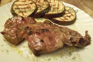 Bistecca collo di maiale (coppa) al timo