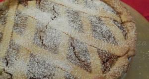Pastiera di grano con crema pasticcera | Ricetta senza latte e burro