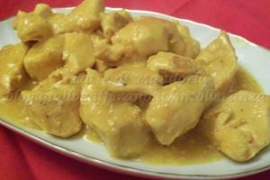Petto di pollo allo zafferano