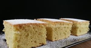 Torta Paradiso con farina di riso senza burro