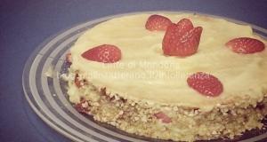 Torta Millefoglie alle fragole e crema pasticcera senza latte