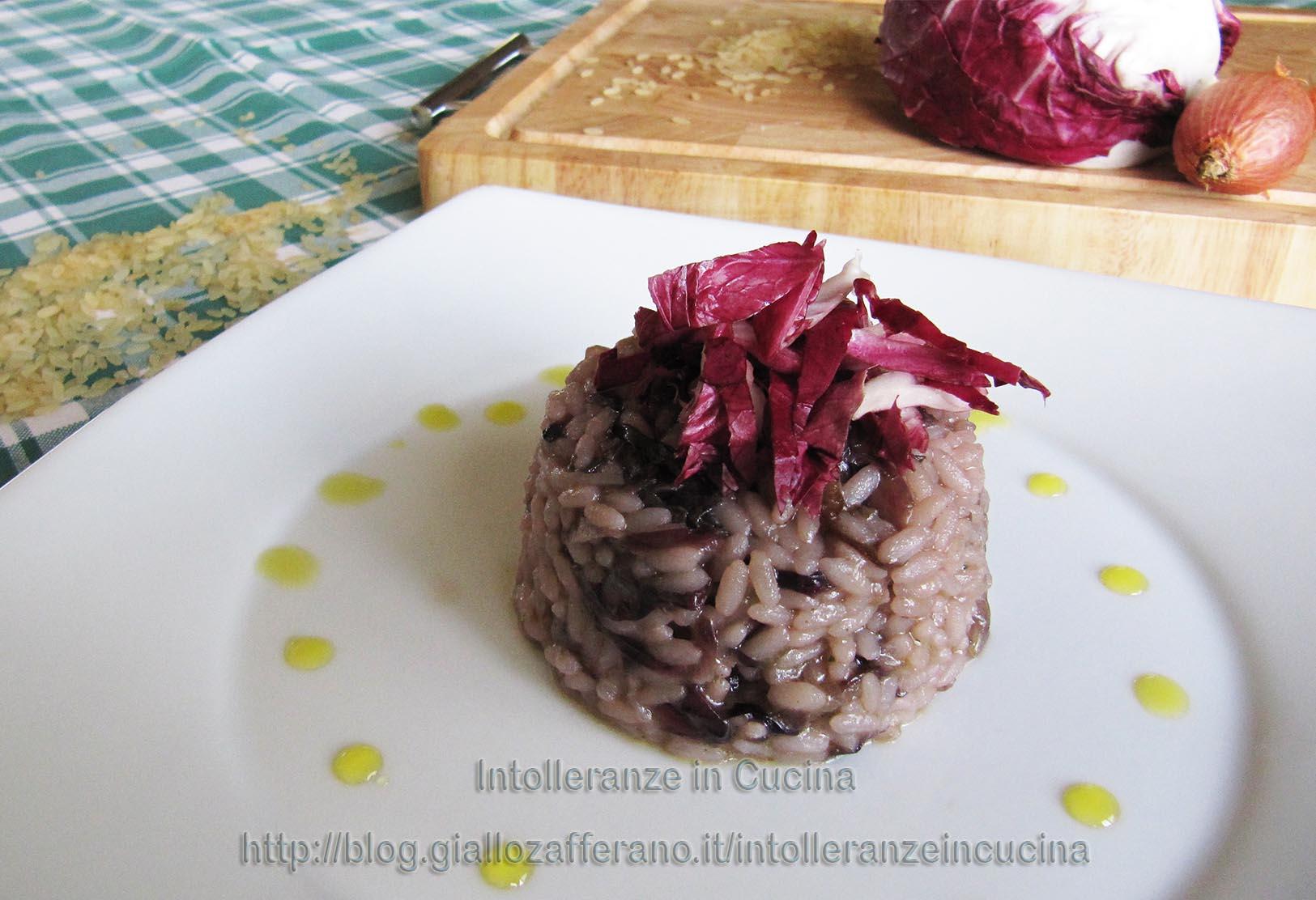 Ricette di cucina risotto al radicchio rosso