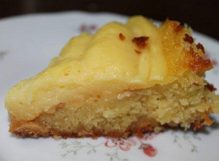 Torta Mandorlata con Crema al Limone