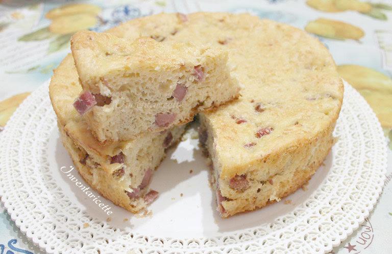 Torta rustica Patate e Salumi