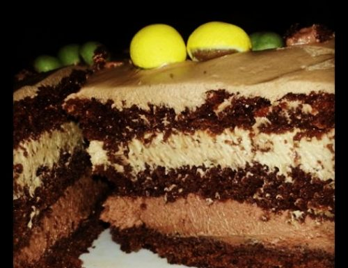 Torta Grisbì, Torta al cioccolato e nocciola