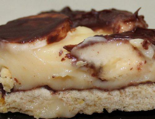 Banana Mint Chocolate in-crostata