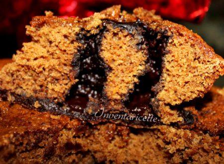 Torta con Orzoro all'arancia e Cioccolato speziato