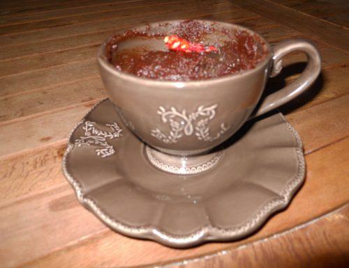 Stregata, cioccolata calda al peperoncino