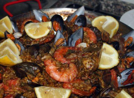 Paella spagnola, ma selvatica