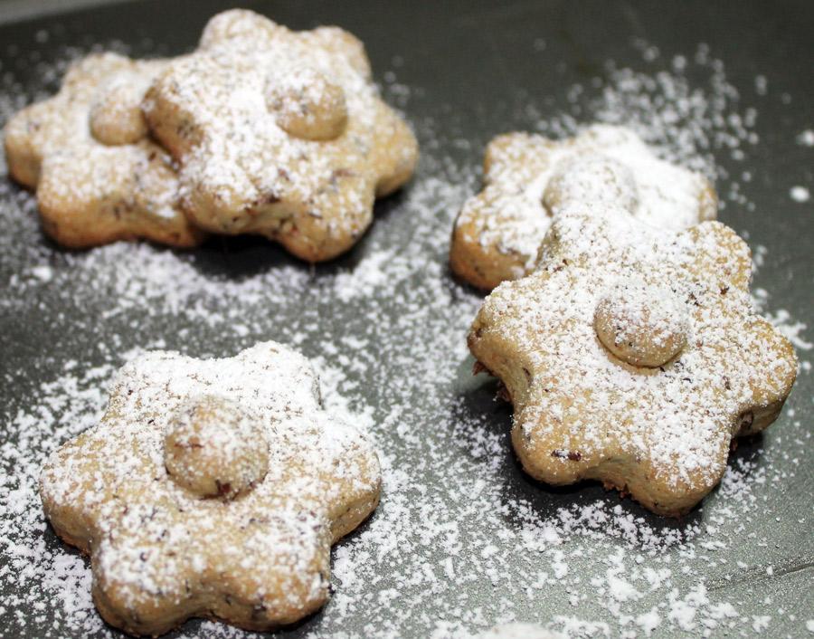 Biscotti integrali al rooibos e vaniglia