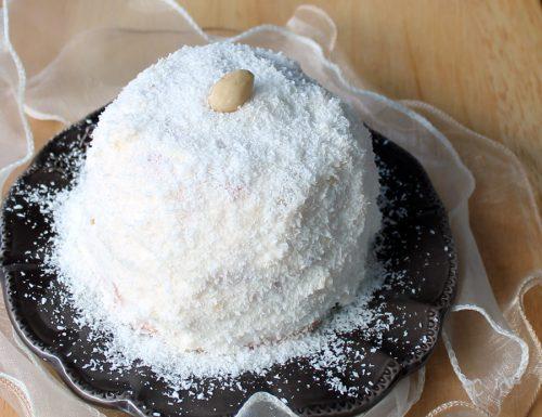 Raffaelliana, Torta al cocco e cioccolato bianco
