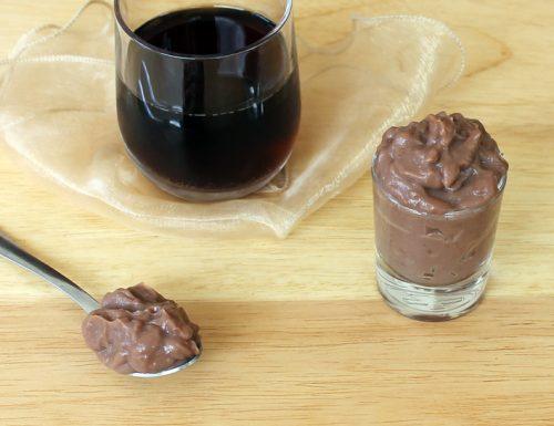 Crema al microonde cioccolato rum e cola