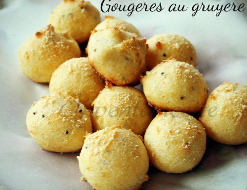 Gougeres au gruyere , il re degli aperitivi francesi