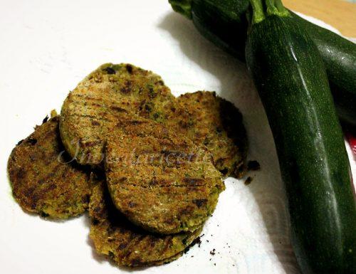Cotolette di verdure, Le Contadine con ceci e zucchine