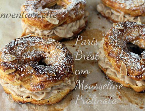 Paris Brest con crema Mousseline pralinata