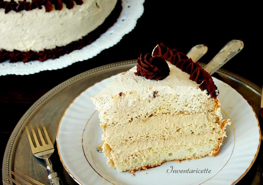 Caramel Cake, Torta al Caramello e cioccolato