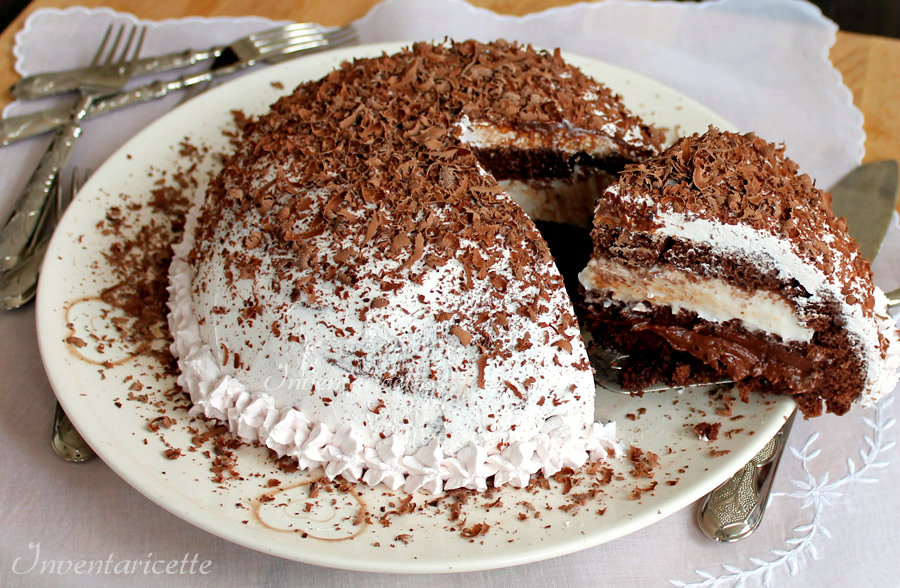 Zuccotto Mon Cheri - Zuccotto cioccolato e amarena