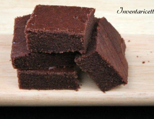 Brownies alla Nutella – Senza Uova e Senza Glutine