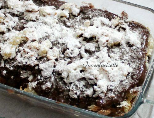 Dessert Panettone all'amaro e cioccolato